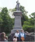 Corpus Christi School students at Little Round Top.  Photo by Summer Citro.