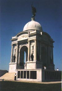 The Pennsylvania Memorial at Gettysburg